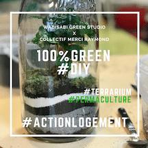 Teaser ateliers green DIY Grande Borne