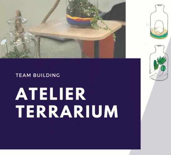 Team building AFD bien être au travail #QVT Atelier Terrarium avec YWG