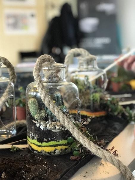 team building terrarium, QVT, GROHE